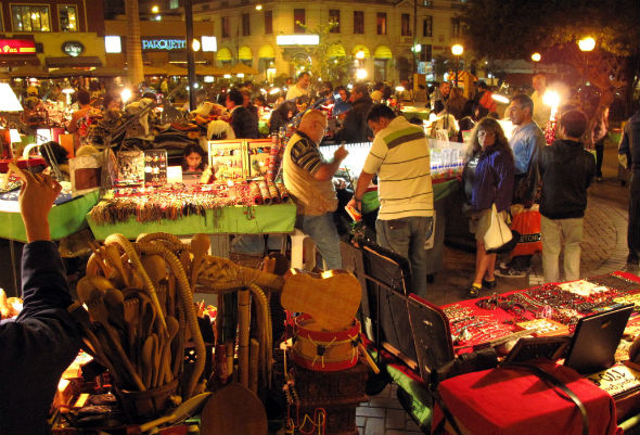 Barranco Night Market, Lima, Peru