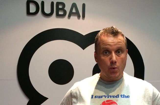 Dubai92 breakfast show host, Catboy