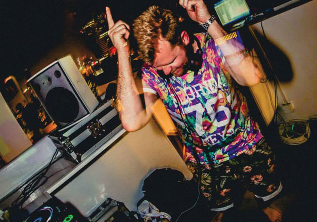 Superheroes - underground clubbing in Dubai