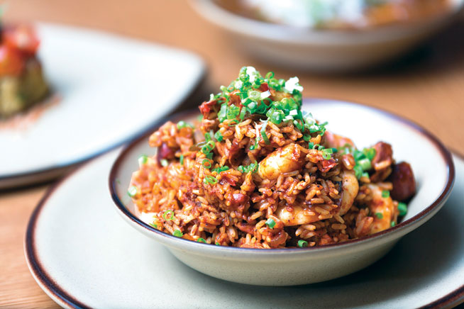 Best dishes in Dubai - Seafood jambalaya at Cravin' Cajun
