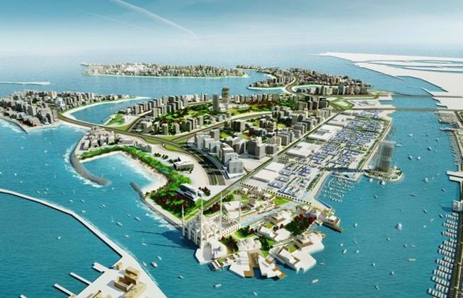 Deira Islands - how it will look