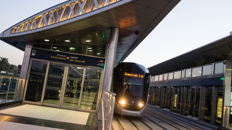 Dubai Tram launches