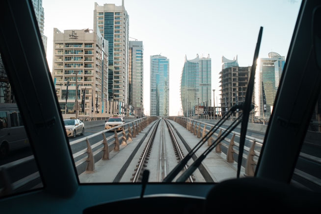 Dubai Tram launches - first ride