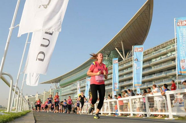 Dubai Women's Run, and other Dubai Marathon training runs
