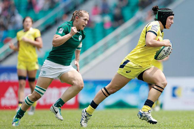 Dubai Rugby Sevens: Emilee Cherry