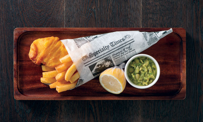Best dishes in Dubai - Fish and chips at Geales