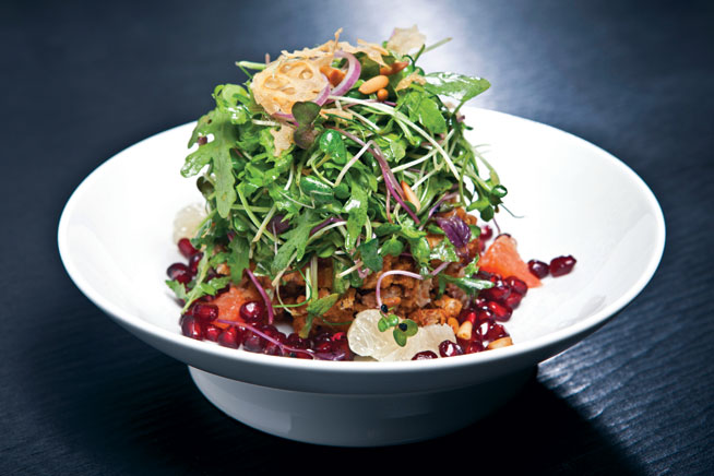 Best dishes in Dubai - Duck salad at Hakkasan