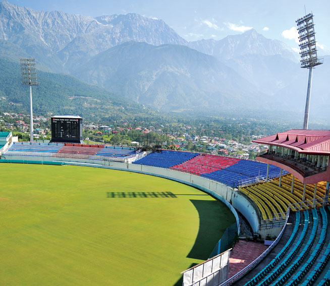 World's best sporting venues: Himachal Pradesh Cricket Stadium
