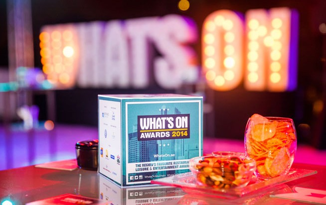 What's On Awards 2014
