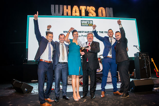 What's On Awards Dubai 2014