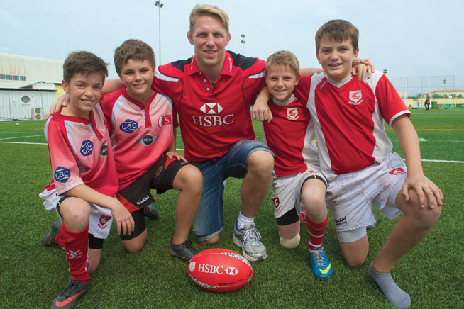 Dubai Rugby Sevens: Lewis Moody