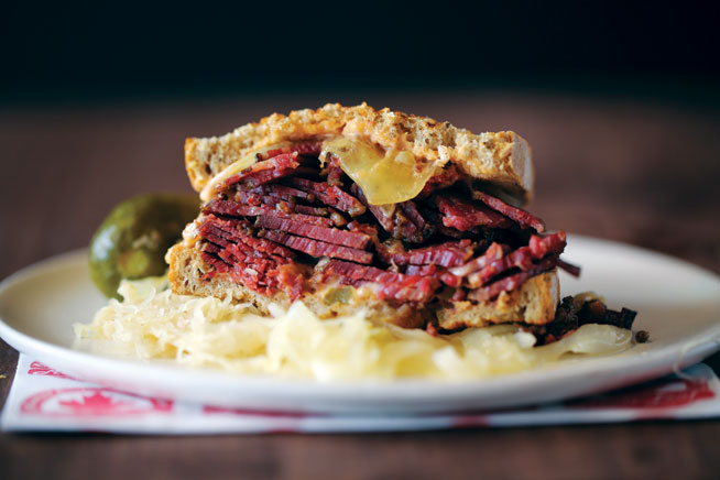 Best dishes in Dubai - Reuben at Maple Leaf