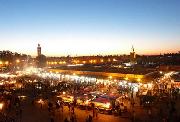 Marrakech Night Market, Morocco