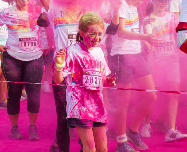 The Colour Run Dubai - race and after-party pictures
