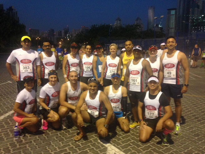 Newton Running 10 miler - runner pics