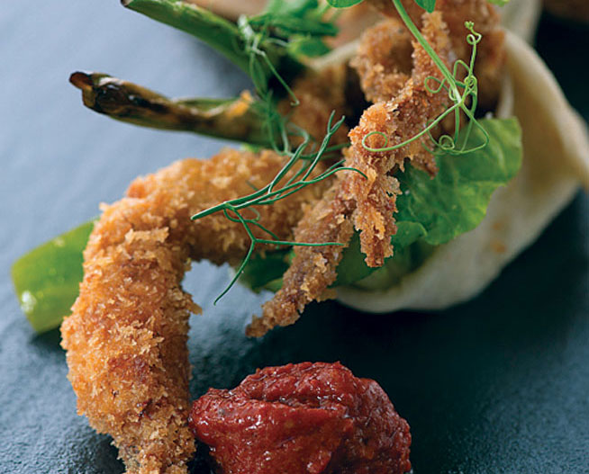 Best dishes in Dubai - Soft shell crab at Qbara