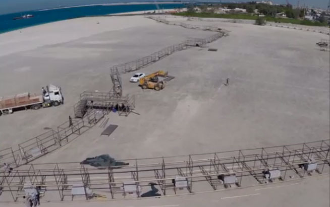 World's largest graffiti piece - Rehlatna to be created in Dubai