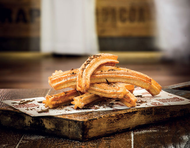 Best desserts in Dubai - Churros at Taquado