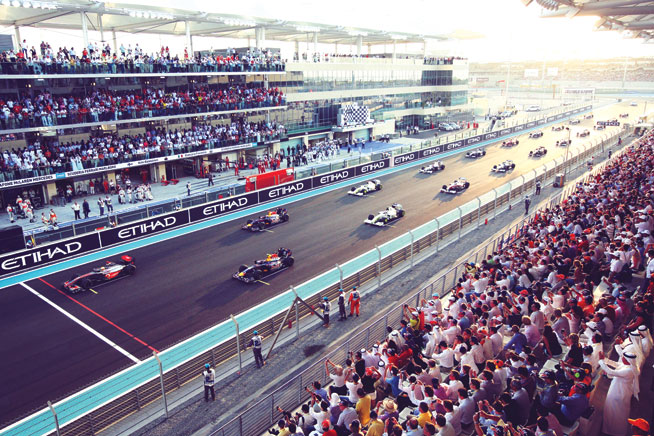 World's best sporting venues: Yas Marina Circuit