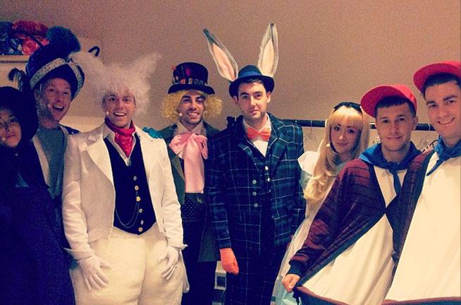 Alice In Wonderland - Madinat Theatre December 2014