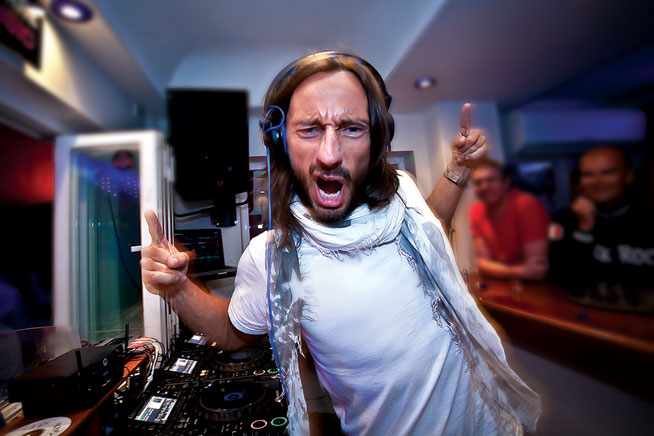 Bob Sinclar at Pacha on Boxing Day