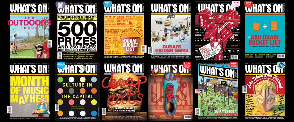 What's On Covers 2014