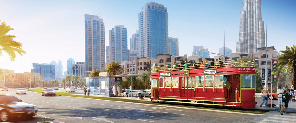 Dubai Trolley to launch in Downtown Dubai