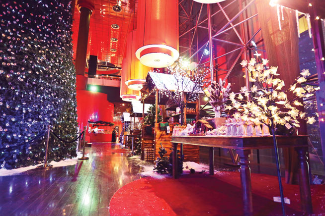 Galeries Lafayette Christmas Market