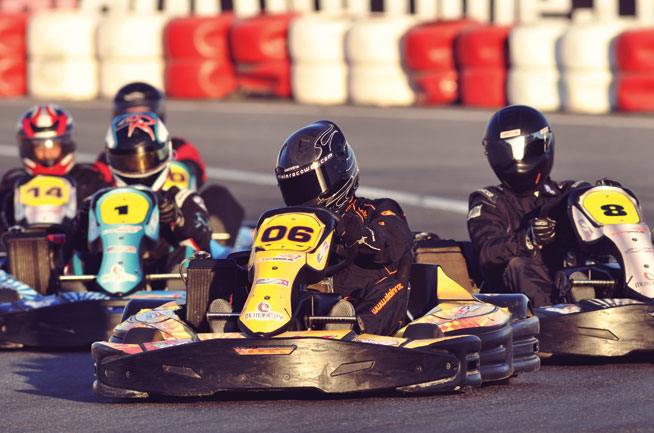 Go-karting in Dubai