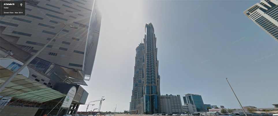 Google Street View in Dubai - Business Bay