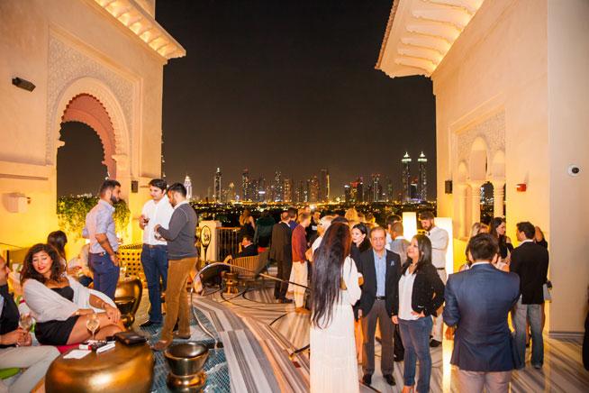 Mercury Lounge Four Seasons Dubai - launch party pictures