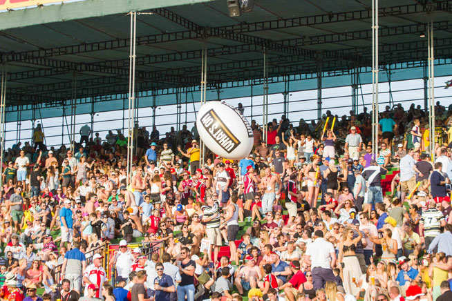 Dubai Rugby Sevens 2014 - best of the action