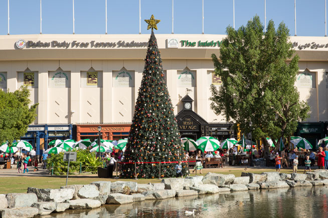 The Irish Village - Christmas in Dubai