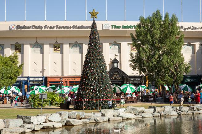 The Irish Village - Christmas in Dubai