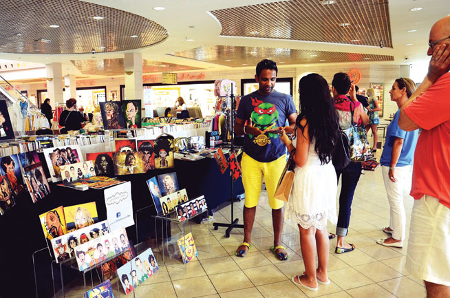 Pop-up market at Town Centre in Jumeirah