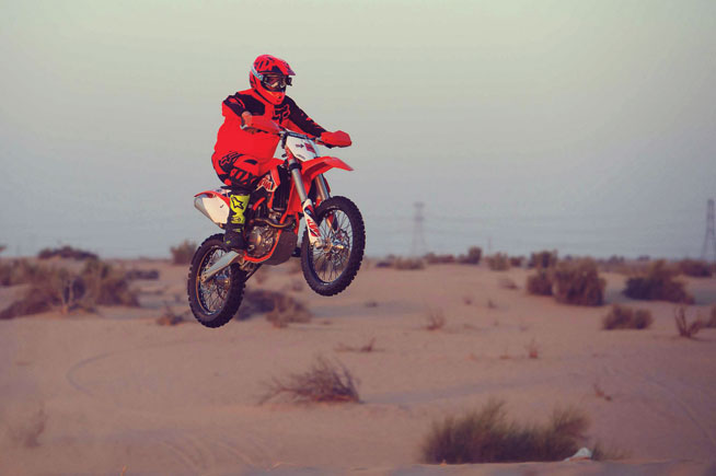 Just Gas It - motorcycle tours in Dubai