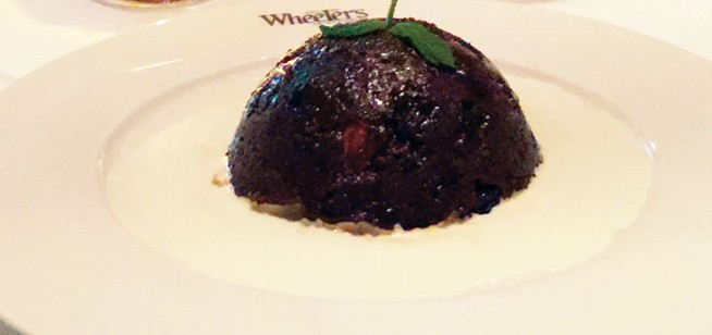 Marco Pierre White Christmas pudding
