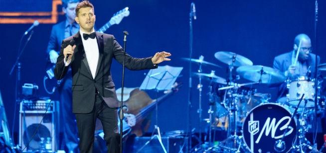 Michael Buble in Dubai