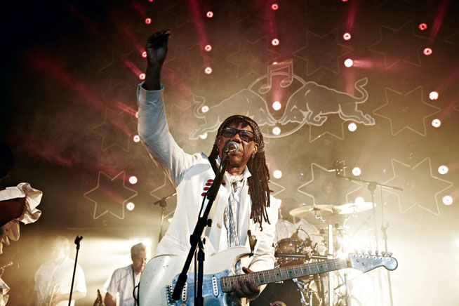 Nile Rodgers - Masterjam NYE preview