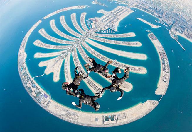World Parachuting Championships in Dubai at Skydive Dubai