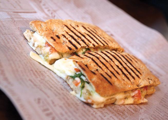 Pressman's sandwich shop in Dubai