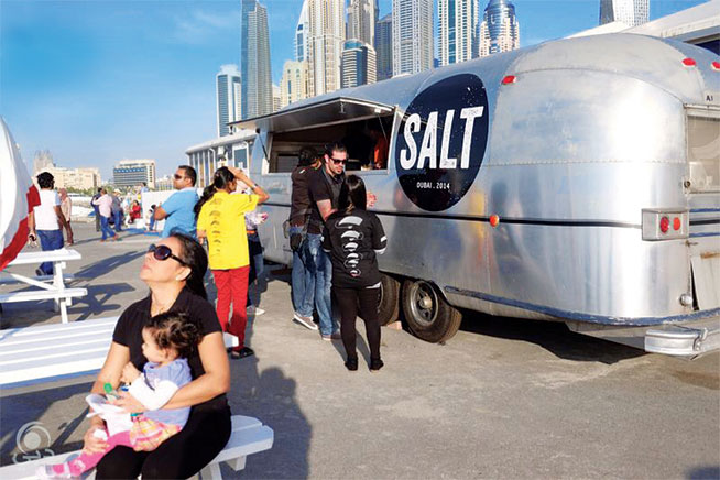 Food trucks in Dubai - Salt