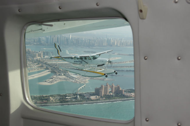 Aerial tours of Dubai