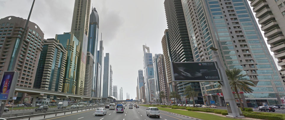 Google Street View in Dubai