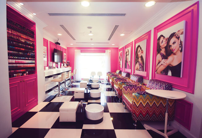 Nail bars in Dubai - The Dollhouse