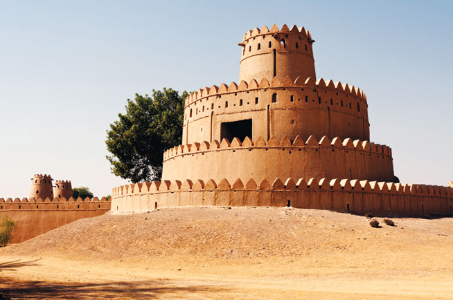 Al Jahili Fort - road trips in the UAE