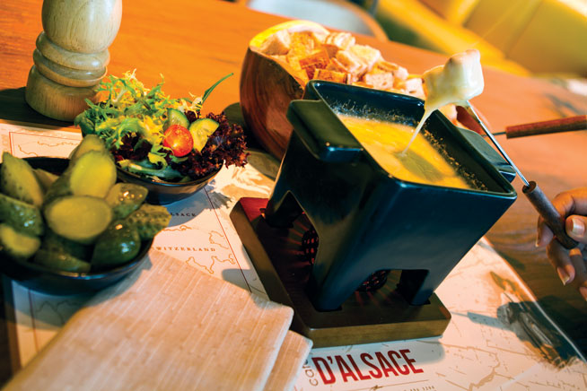 Cafe D'Alsace - best dishes in Abu Dhabi