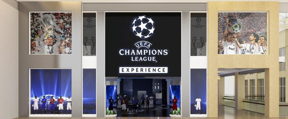 Champions League Experience in Abu Dhabi, Yas Mall
