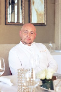 Chef Didier Quennouelle at Bord Eau