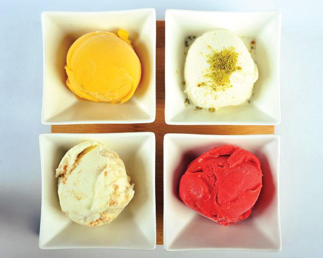 Dabbouza ice cream at Flooka